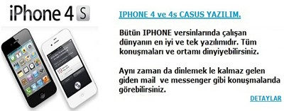 iphone4scasusyazilim